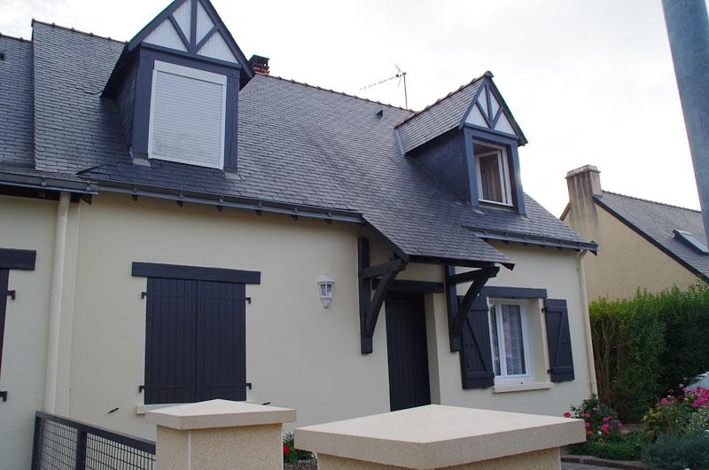 peinture facade. Black Bedroom Furniture Sets. Home Design Ideas