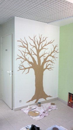 fresque trompe oeil peintre angers 2 nicolas placais. Black Bedroom Furniture Sets. Home Design Ideas
