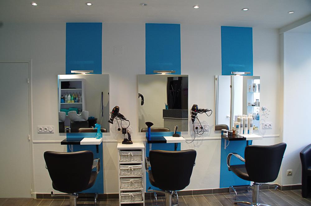 Idée peinture salon de coiffure